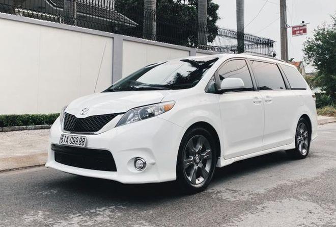 Toyota Sienna Ban The Thao 10 Nam Tuoi Tai Viet Nam 4