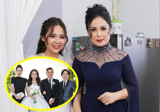 Nghe Si Kim Tu Long Cong Hau Du Dam Cuoi Con Gai On Bich Hang 3
