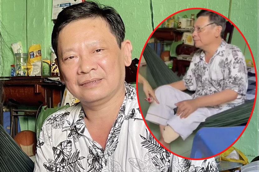 Nghệ sĩ Linh Phước phải cưa chân vì hoại tử