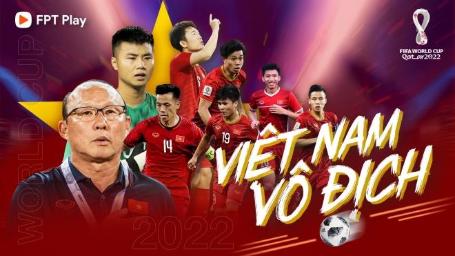 FPT TELECOM SỞ HỮU TRỌN VẸN BẢN QUYỀN TOÀN BỘ GIẢI ĐẤU CẤP CÂU LẠC BỘ UEFA, VÒNG LOẠI THỨ 3 WORLD CUP 2022